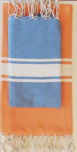Foute arancio blu