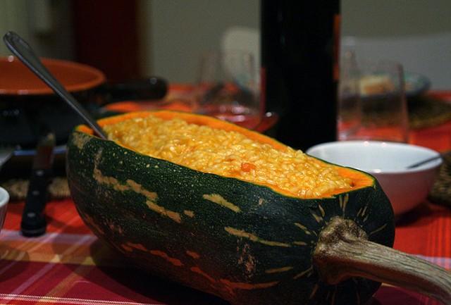 Risotto zucca e rosmarino perfetto per halloween diredonna for Ricette per cucinare