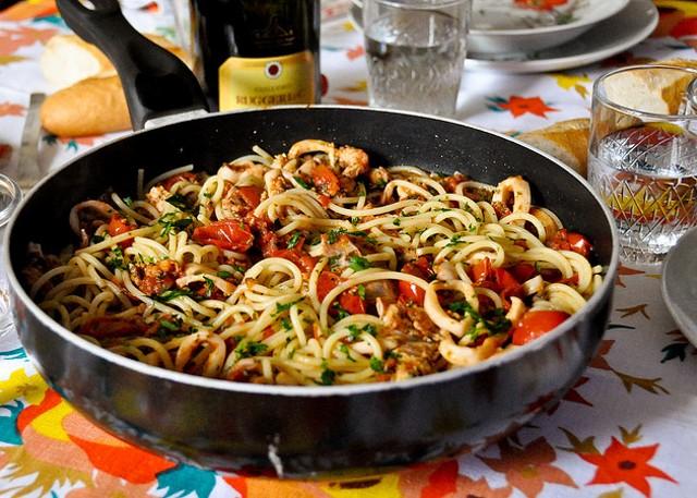 Halloween ricette per cucinare spaghetti allo scoglio for Cucinare x halloween