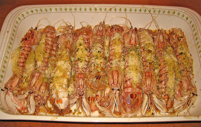 Pannocchie al forno come cucinarle diredonna for Cucinare scampi