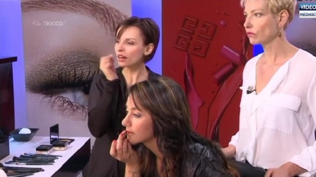 Che Trucco La5 Video Puntate: make up giorno e sera con Givenchy