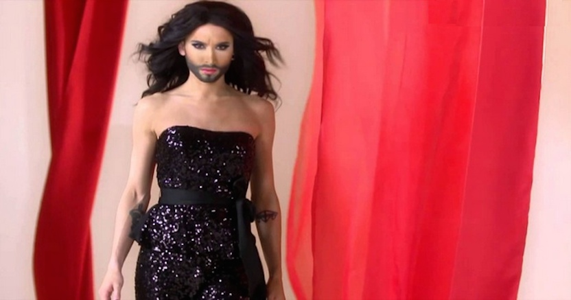 Gay pride 2014: Conchita Wurst Regina dell'evento a Madrid
