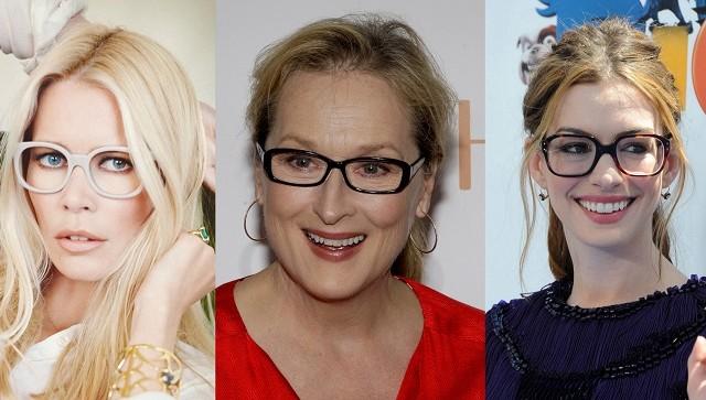 Come truccarsi con gli occhiali i make up ideali da for Attrici con gli occhiali da vista