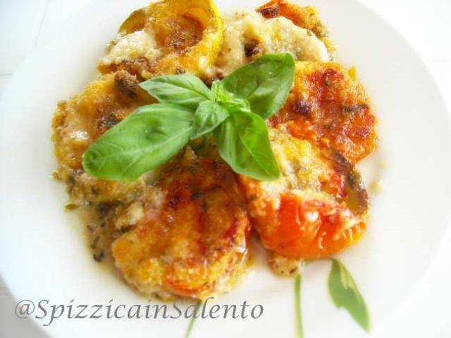 Cucinare d 39 estate pomodori gratinati piatto freddo for Cucinare qualcosa di veloce