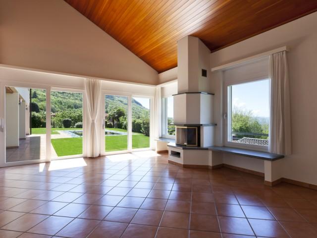 Arredamento moderno e pavimento in cotto un connubio for Arredamento rustico moderno