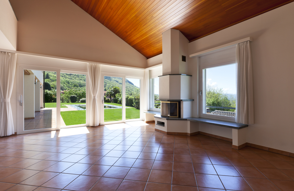 Arredamento moderno e pavimento in cotto un connubio for Pavimenti case moderne