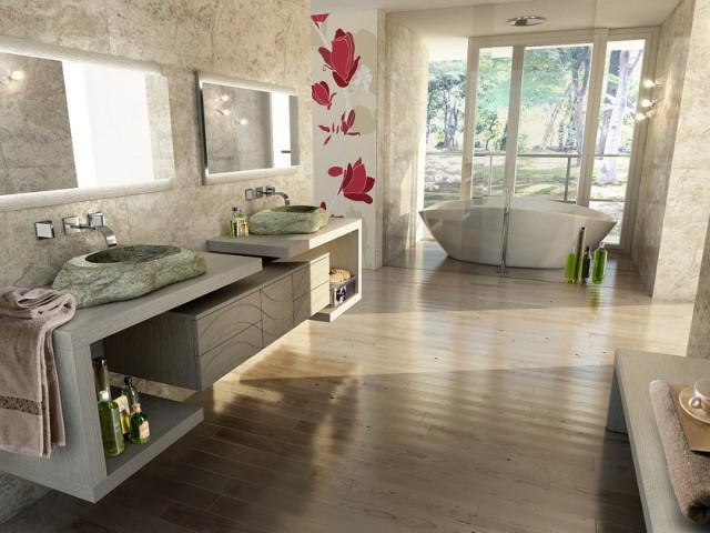 5 idee per scegliere il pavimento del bagno diredonna - Pavimento bagno consigli ...