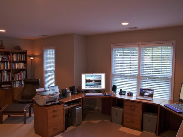 Come arredare un ufficio a casa diredonna - Arredare ufficio in casa ...