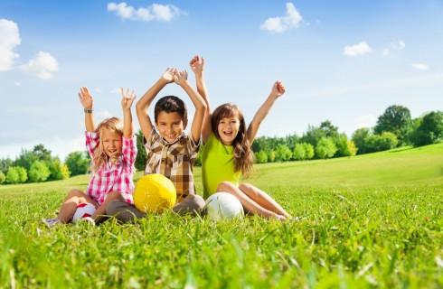 10 giochi per bambini all'aperto