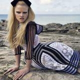 Lara Stone A La Bretonne - Turks & Caicos - W Magazine, 2009