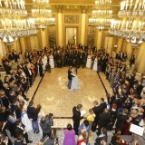 Carla Gozzi madrina del ballo viennese delle debuttanti di Milano