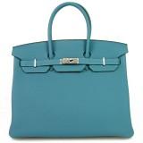 Hermes Birkin - blue