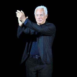 Un sito per festeggiare i 40 anni di Giorgio Armani