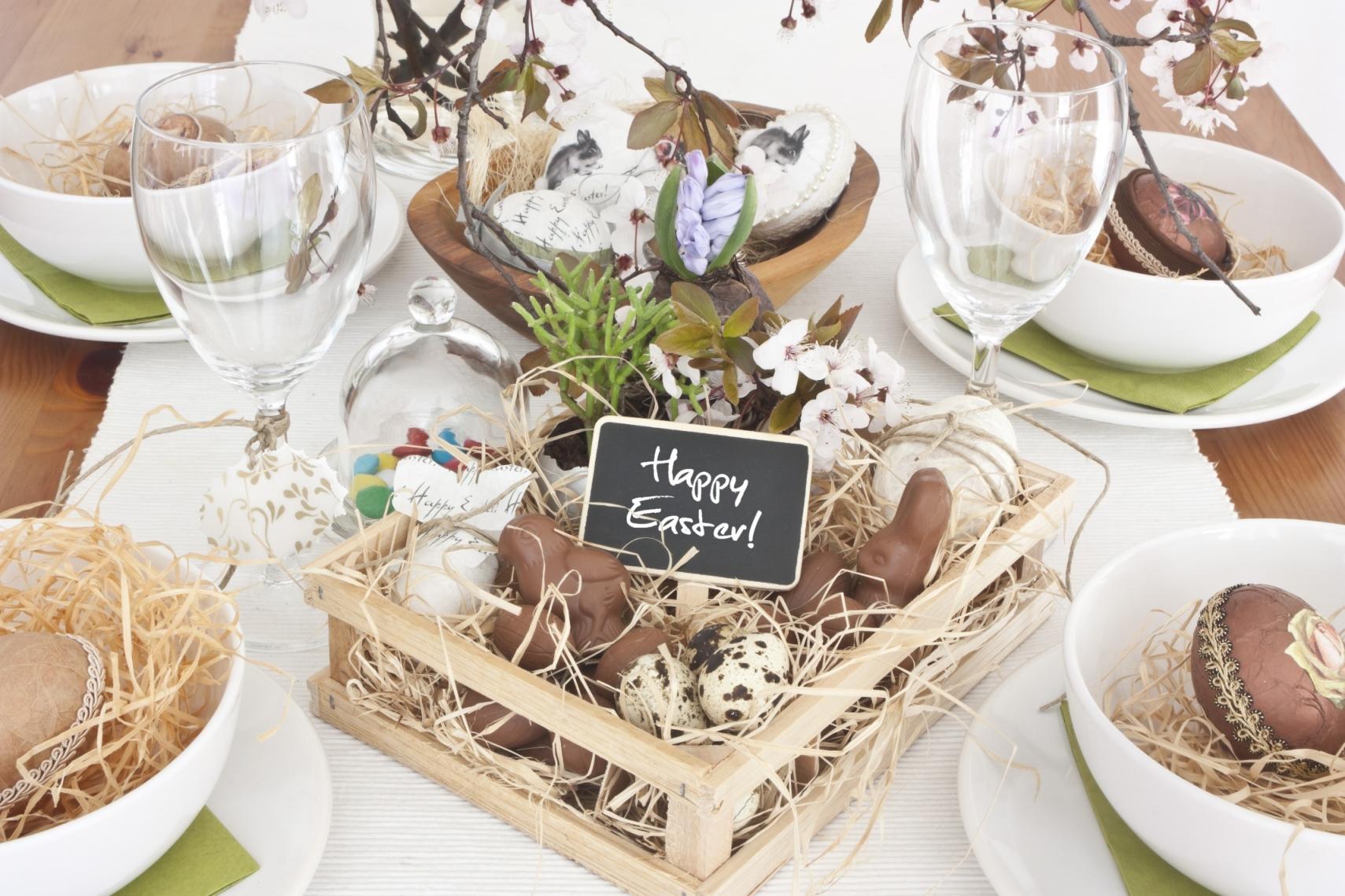 Decorazioni Pasquali Da Tavola : Decorazioni pasquali per la tavola diredonna