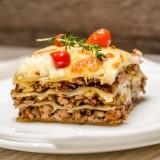 lasagna con ragù di agnello
