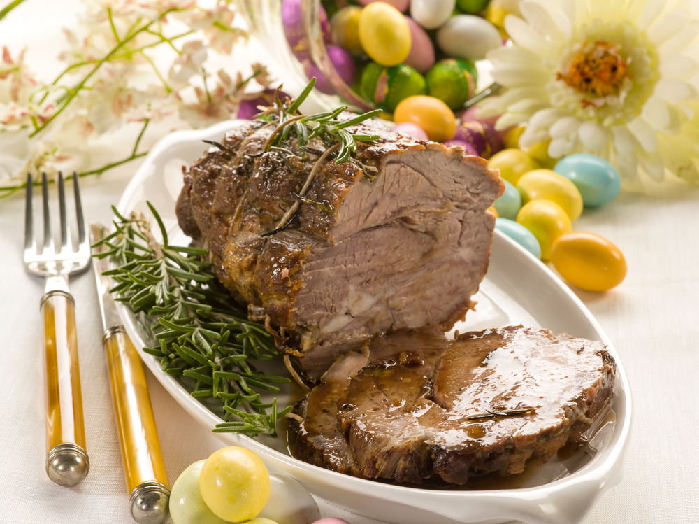 Il menu del pranzo di Pasqua
