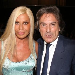 Donatella Versace infuriata con Giorgio Armani