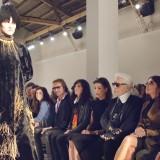 Virginie Viard, Carolina di Monaco, Karl Lagerfeld e Carine Roitfeld