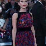 "Scarlett Johansson alla première londinese di ""Avengers: Age of Ultron"""