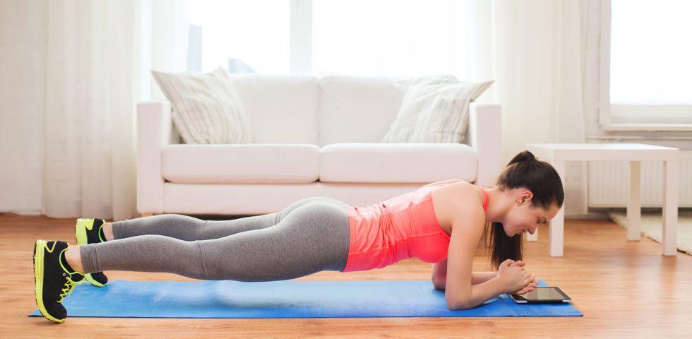 esercizio fisico per perdere peso a casa