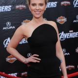 """Scarlett Johansson alla première di """"The Avengers"""" del 2012"""