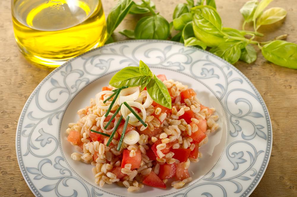 insalata di farro al pomodoro