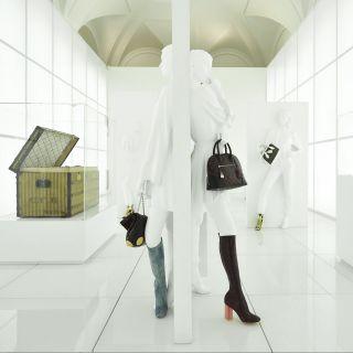 Come nasce l'alta moda Louis Vuitton: una mostra a Roma