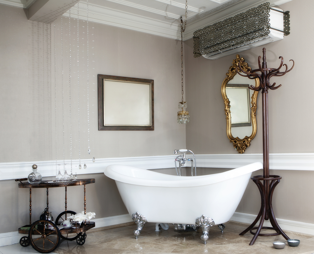 Arredo bagno classico 5 consigli diredonna for Victorian bathroom designs photos