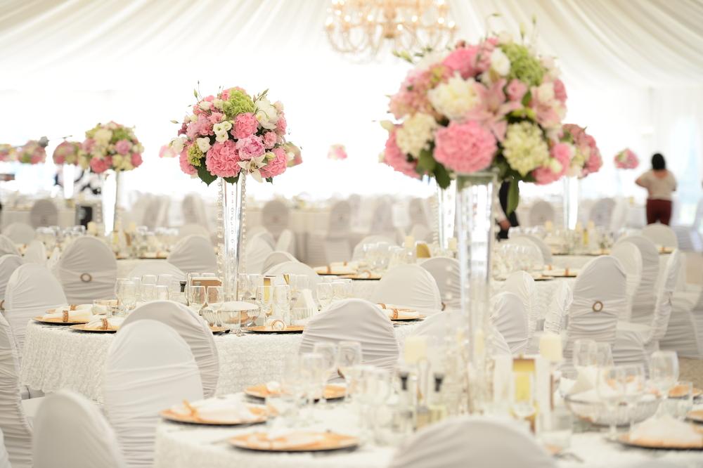 Centrotavola per matrimonio diredonna - Hochzeits tischdekoration ...