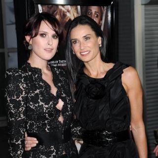 Demi Moore e la figlia Rumer gemelle su Instagram
