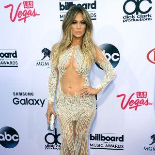 Jennifer Lopez e Mariah Carey: nude look ai Billboard Awards