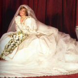 Lady Diana in David and Elizabeth Emanuel