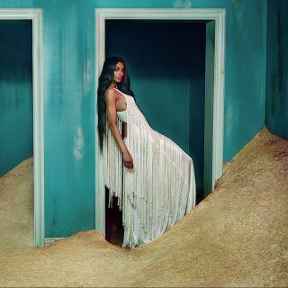 La cantante Ciara sensuale musa per Roberto Cavalli