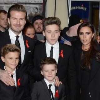 La famiglia Beckham si diverte a Disneyland