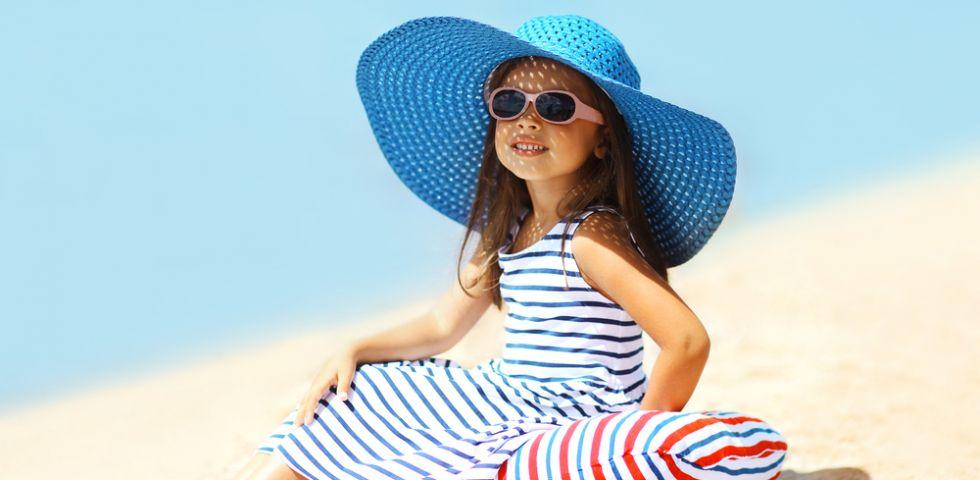 Protezione solare per bambini guida alla scelta diredonna for Protezione stufa per bambini