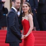 Natalie Portman e Benjamin Millepied  a Cannes 2015