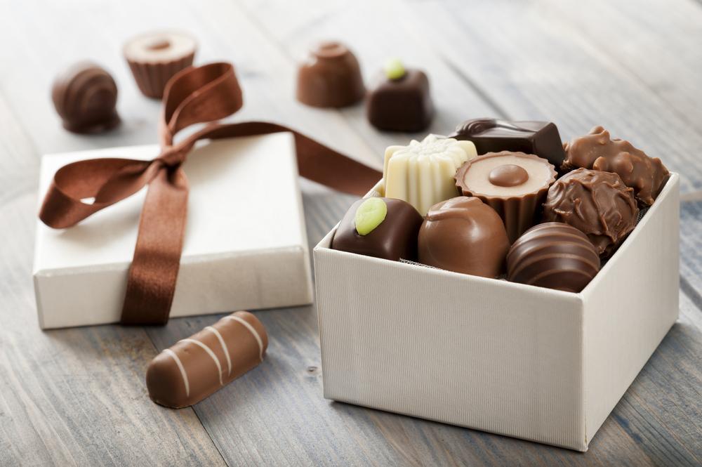 scatola cioccolatini