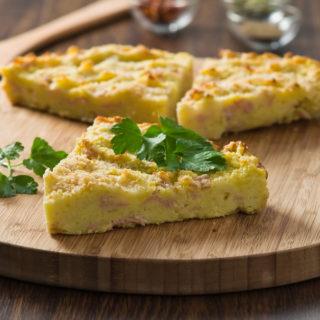 Gateau di patate: ricetta francese della torta salata