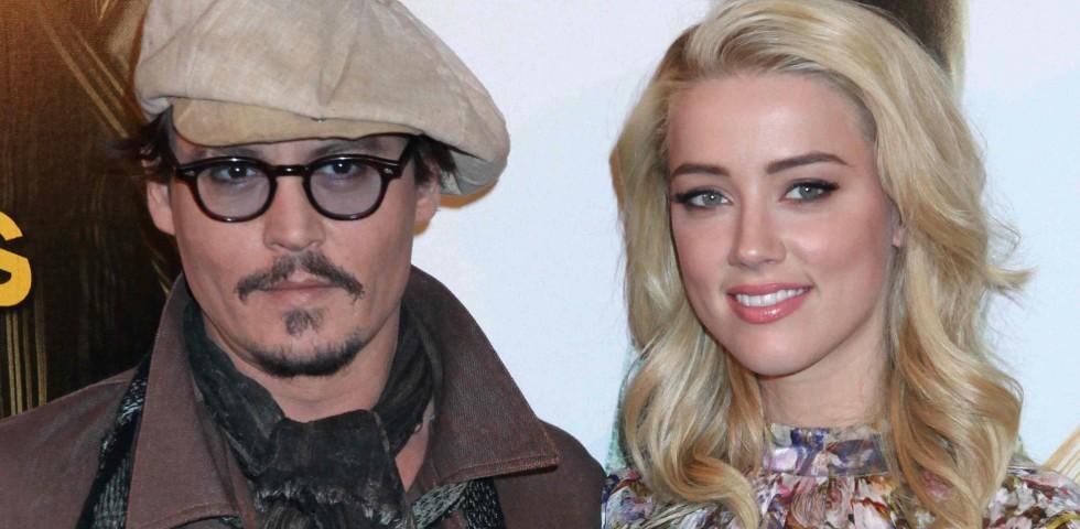 Johnny Depp e Amber Heard - Le coppie più belle del cinema