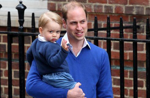 Il principe George allo zoo con la mamma di Kate Middleton