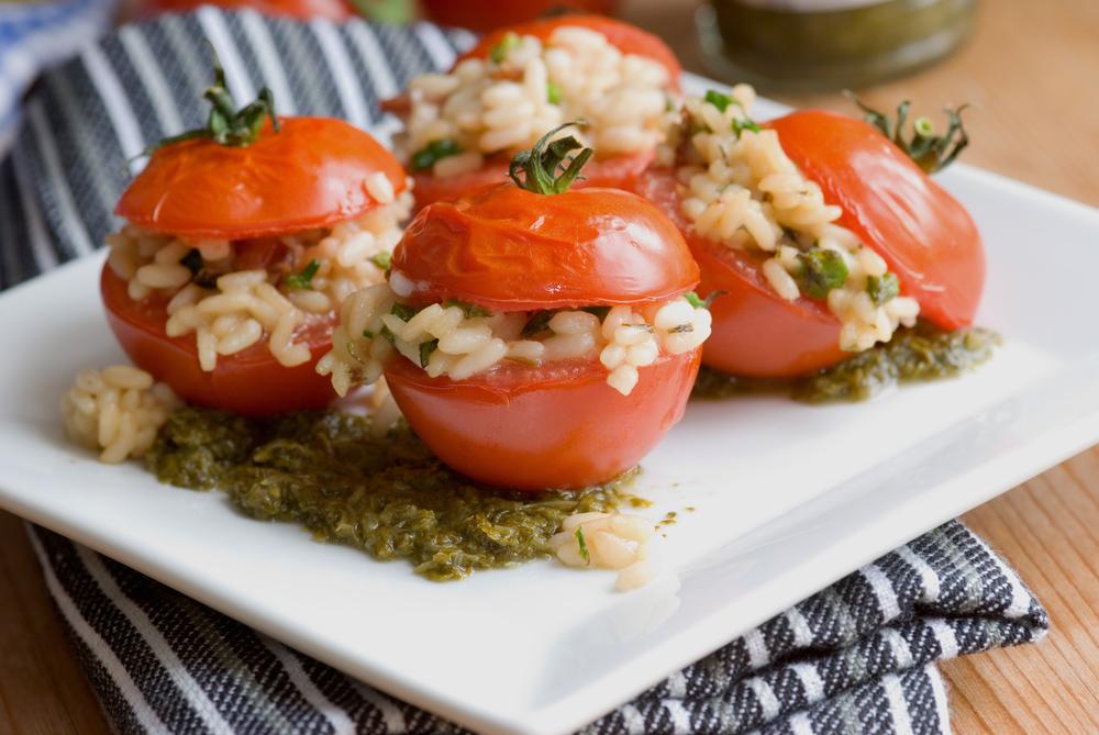 pomodori di riso al pesto