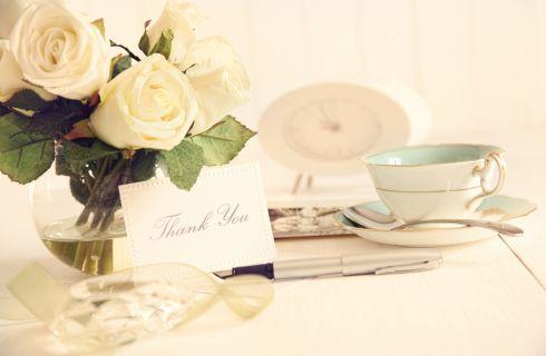 Ringraziamenti matrimonio: idee per biglietti fai da te