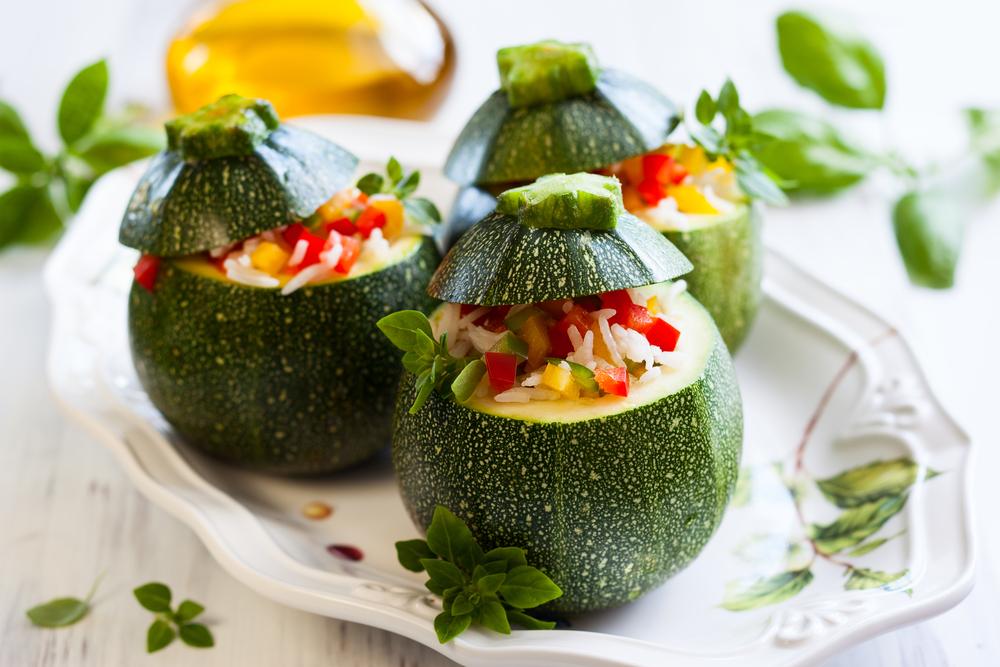 Zucchine ripiene al forno e in padella 3 ricette diredonna for Cucinare zucchine tonde