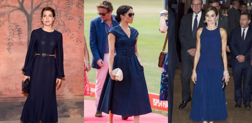 Gli accessori giusti da abbinare al vestito blu