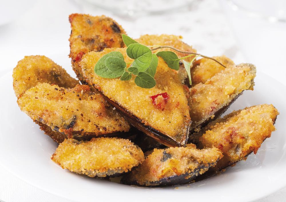 cozze impanate