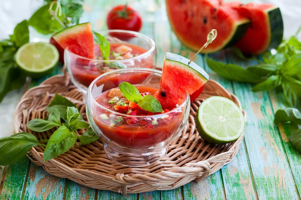 gazpacho con anguria