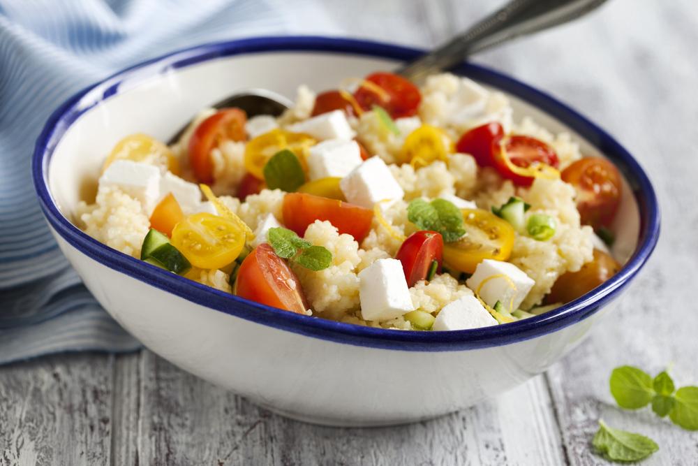 insalata di cous cous