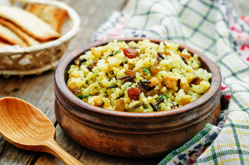 riso al curry vegetariano
