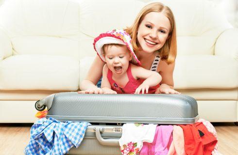 Come preparare la valigia dei più piccoli