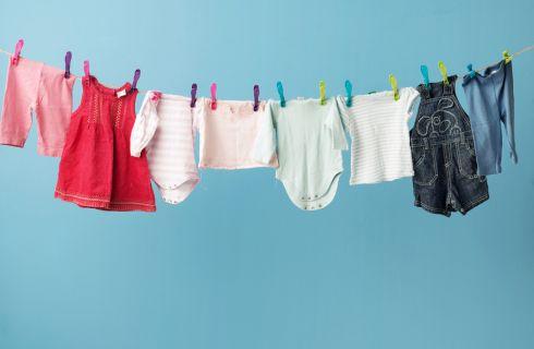 Come fare il bucato dei neonati
